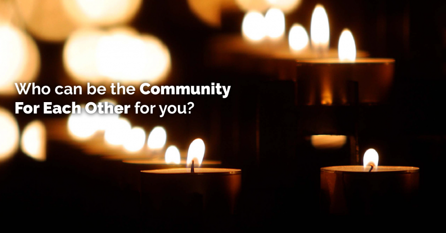 HELP GETTING THROUGH THE HOLIDAYS – The Community For  Each Other – Thursday Thought
