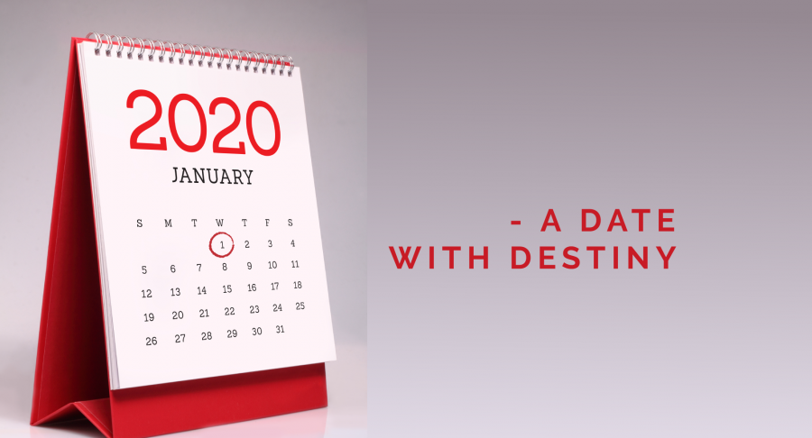 January 1st – A Date with Destiny – Thursday Thought