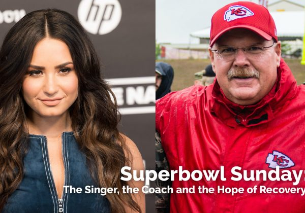 Superbowl Sunday: The Singer, the Coach and the Hope of Recovery