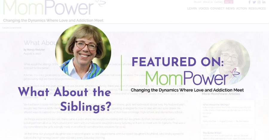 What About the Siblings? – Featured on MomPower.org
