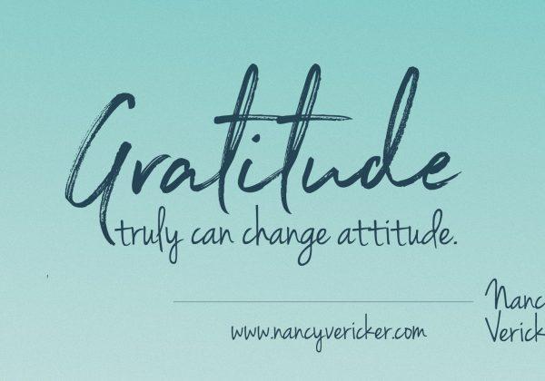 Gratitude: Just Do It