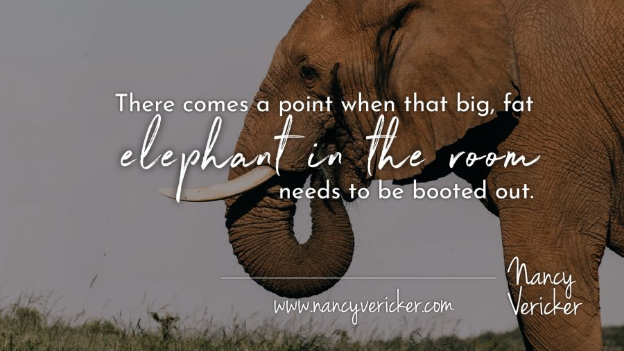 """Giving the """"Elephant in the Room"""" the Boot"""