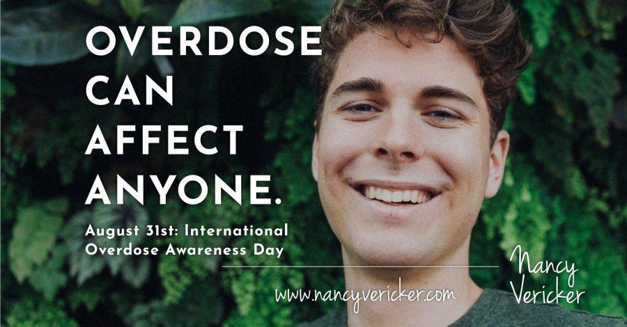 August 31st : International Overdose Awareness Day