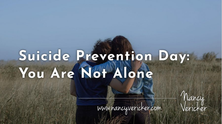 Suicide Prevention Day: You Are Not Alone